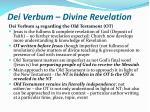 dei verbum divine revelation14