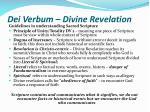 dei verbum divine revelation17