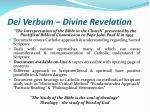 dei verbum divine revelation18