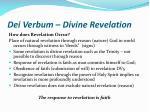 dei verbum divine revelation4