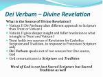 dei verbum divine revelation5