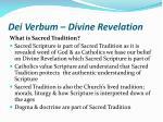 dei verbum divine revelation7