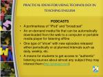 practical ideas for using technology in teaching english9