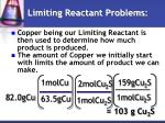 limiting reactant problems2