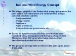 national wind energy concept