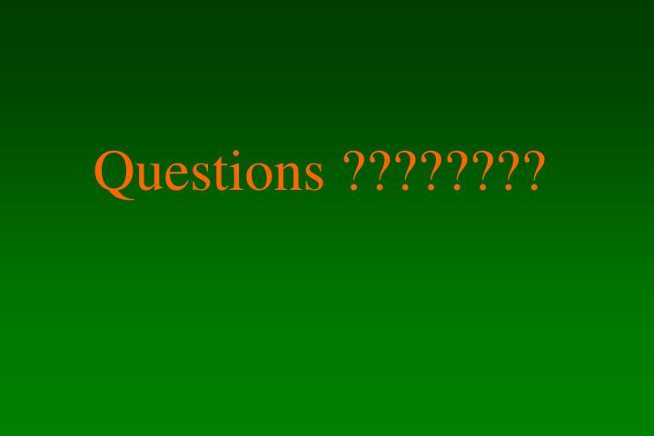 Questions ????????