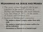 muhammad as jesus and moses