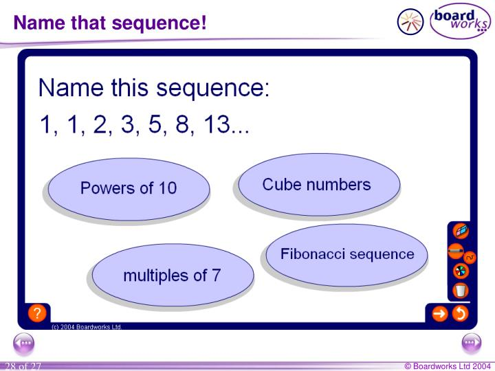 Name that sequence!