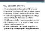 nrc success stories