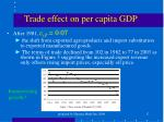 trade effect on per capita gdp1