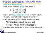 3 generic data hazards raw war waw2