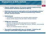 employment skills outlook