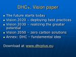 dhc vision paper