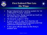 first enlisted pilot gets his wings1