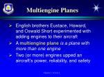 multiengine planes
