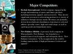 major competitors1