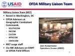ofda military liaison team