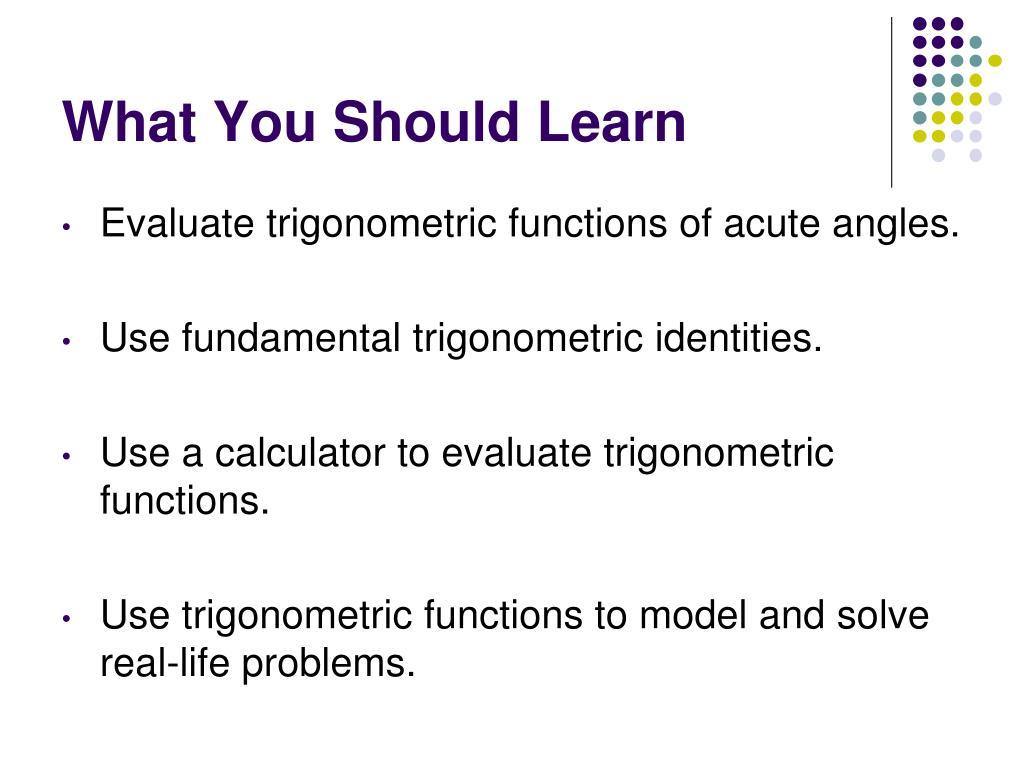 PPT - Right Triangle Trigonometry PowerPoint Presentation - ID:6702274