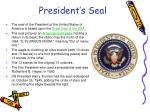 president s seal