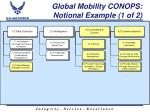 global mobility conops notional example 1 of 2