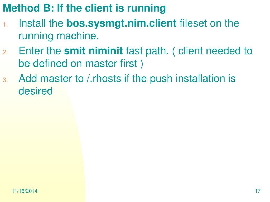 PPT - Intruduction to NIM PowerPoint Presentation - ID:6702357