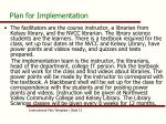 plan for implementation2