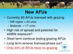 new afus