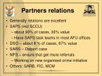 partners relations