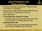 asset forfeiture unit willie hofmeyr