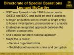 directorate of special operations leonard mccarthy