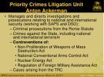 priority crimes litigation unit anton ackerman