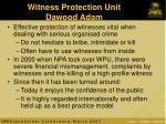 witness protection unit dawood adam
