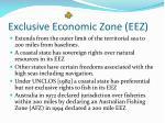 exclusive economic zone eez