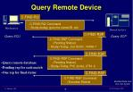 query remote device