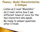 fluency model characterization dialogue1