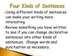 four kinds of sentences10
