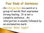 four kinds of sentences5