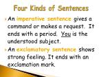four kinds of sentences9