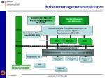 krisenmanagementstrukturen