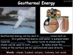 geothermal energy1