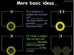 more basic ideas