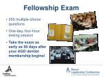 fellowship exam