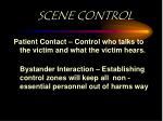 scene control