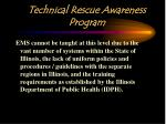 technical rescue awareness program2