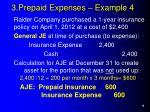 3 prepaid expenses example 4
