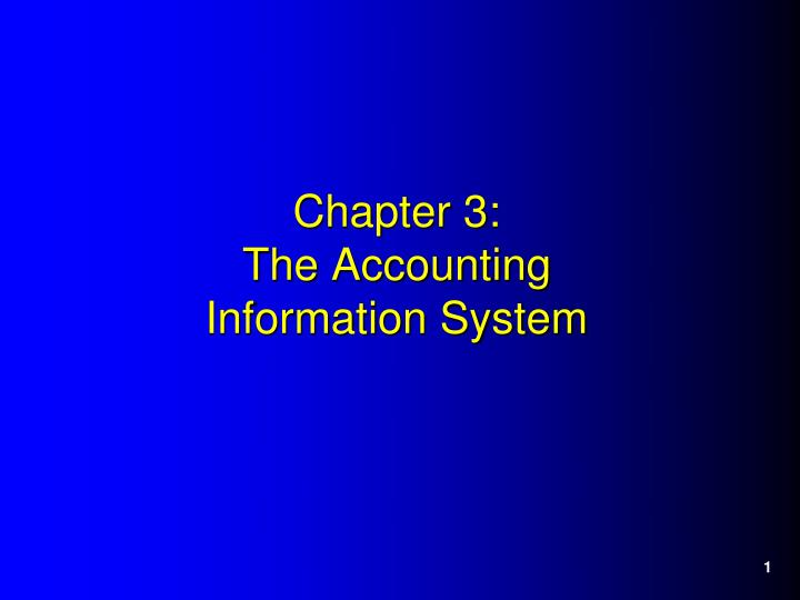 chapter 3 the accounting information system n.