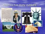 america has many symbols