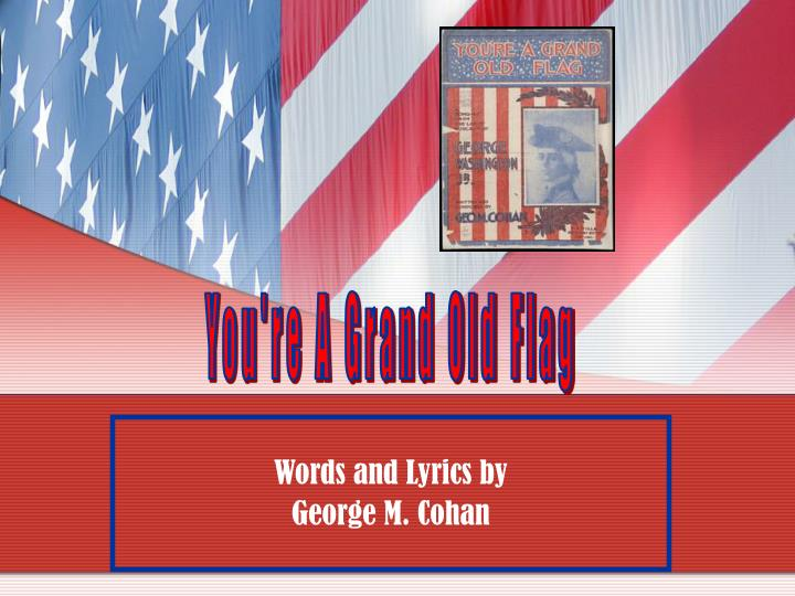 words and lyrics by george m cohan n.