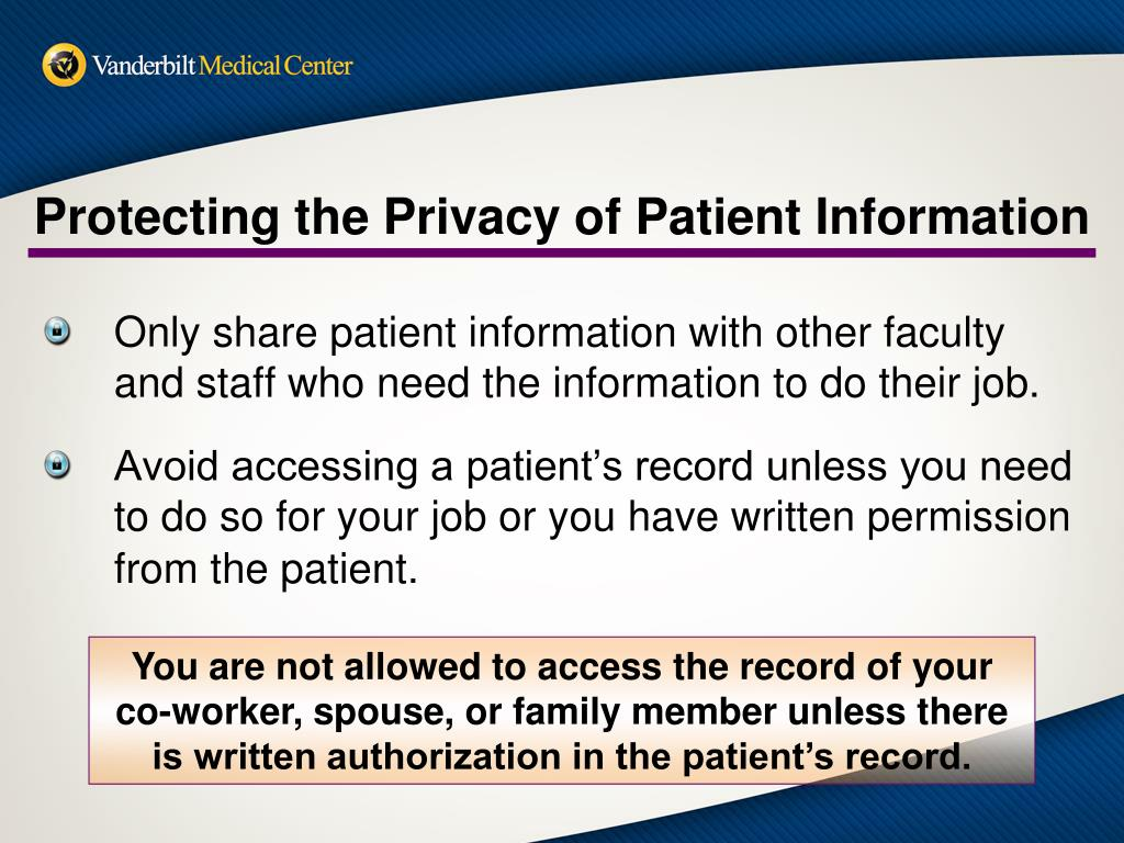 PPT - HIPAA Basic Training for Privacy and Information