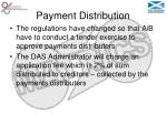 payment distribution